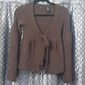 Moda International Boucle Sweater/ Coat
